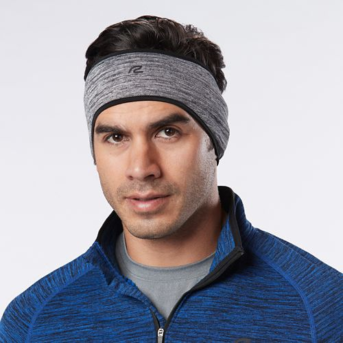 Unisex R-Gear Grid Fleece Ear Warmer Headwear - Steel/Black L/XL