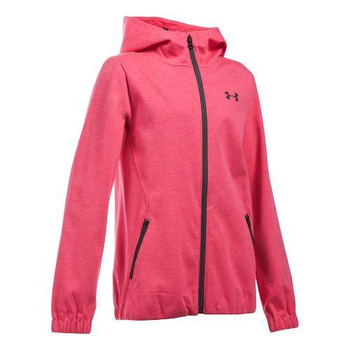 Under Armour Girls Spring Swacket Running Jackets - Gala YXL