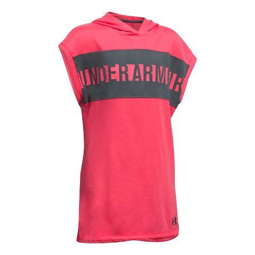 Under Armour Girls Tech Tunic Short Sleeve Technical Tops - Gala YL