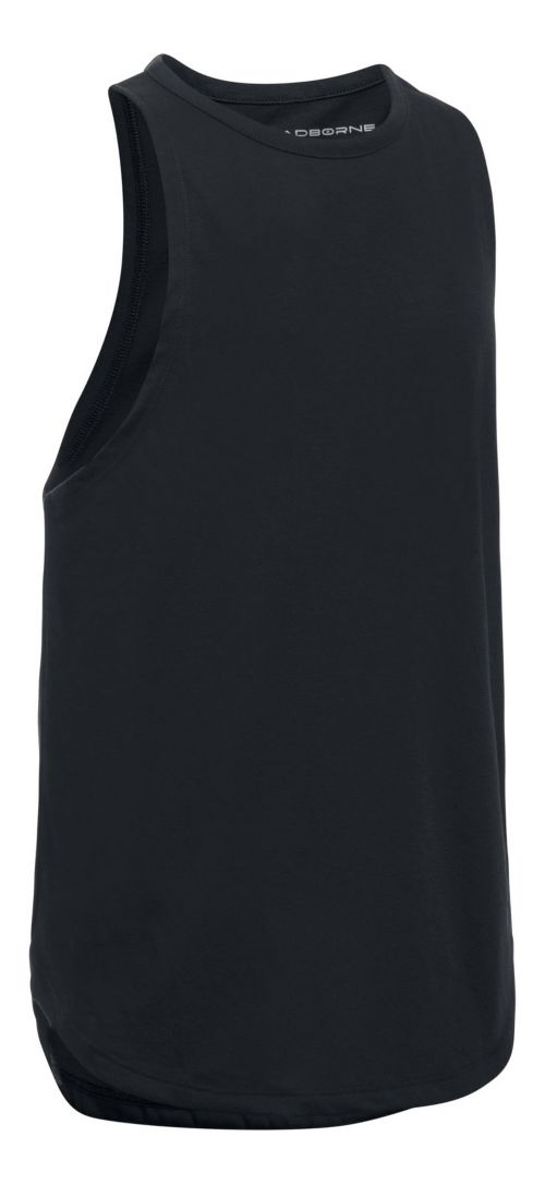 Under Armour Threadborne Play Up Sleeveless & Tank Tops Shorts - Black YL