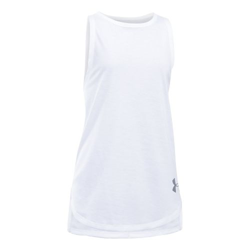 Under Armour Threadborne Play Up Sleeveless & Tank Tops Shorts - White YXL