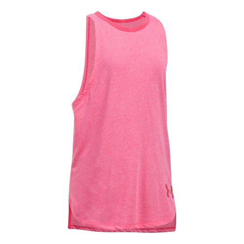 Under Armour Girls Threadborne Play Up Sleeveless & Tank Tops Shorts - Gala YL