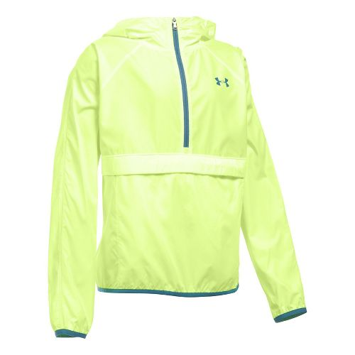 Under Armour Girls Woven Cold Weather Jackets - Pale Moonlight YL