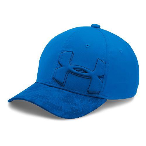 Under Armour Boys Billboard Cap 2.0 Headwear - Ultra Blue/Black S/M