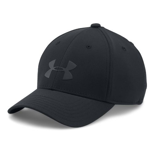 Under Armour Boys Headline Cap 2.0 Headwear - Black/Black XS/S