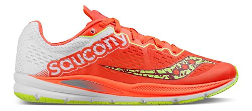 Womens Saucony Fastwitch 8 Running Shoe - Coral Citron 7.5