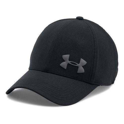 Mens Under Armour AirVent Core Cap Headwear - Black M/L