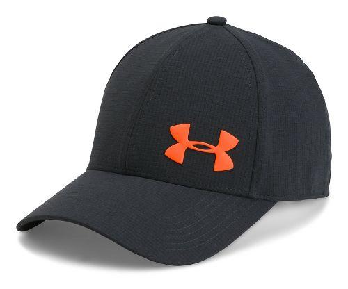 Mens Under Armour AirVent Core Cap Headwear - Anthracite XL/XXL
