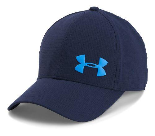 Mens Under Armour AirVent Core Cap Headwear - Midnight Navy M/L