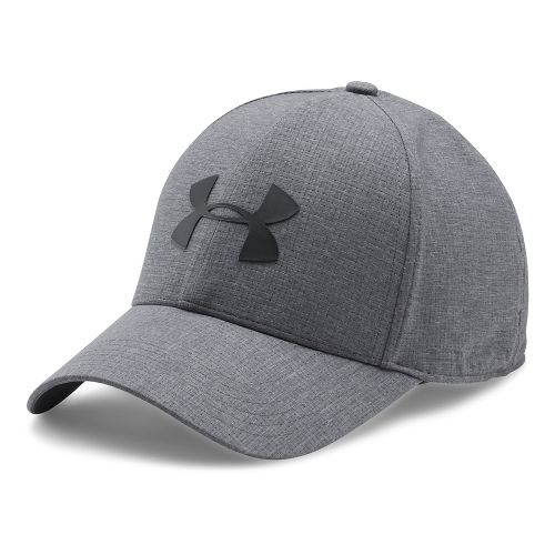 Mens Under Armour CoolSwitch AV Cap 2.0 Headwear - Graphite M/L