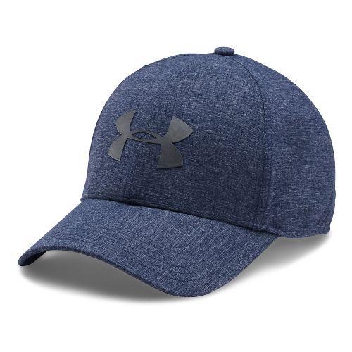Mens Under Armour CoolSwitch AV Cap 2.0 Headwear - Midnight Navy L/XL
