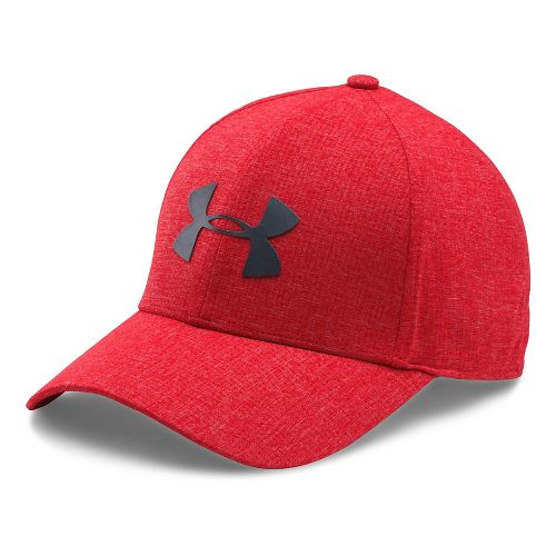 Mens Under Armour CoolSwitch AV Cap 2.0 Headwear - Red M/L