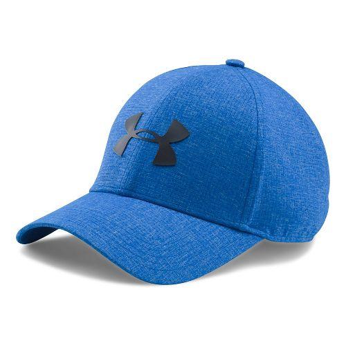 Mens Under Armour CoolSwitch AV Cap 2.0 Headwear - Blue Marker XL/XXL