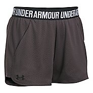 Womens Under Armour Mesh Play Up Unlined Shorts