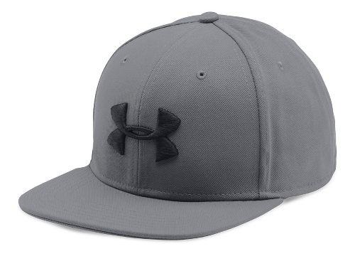Mens Under Armour Huddle Snapback Headwear - Graphite