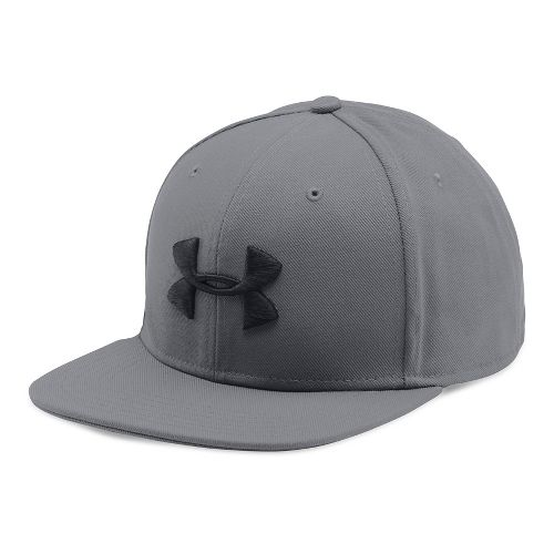 Mens Under Armour Huddle Snapback Headwear - Graphite