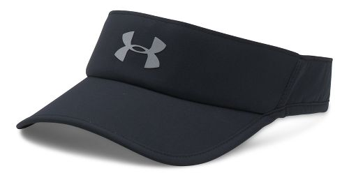 Mens Under Armour Shadow Visor 4.0 Headwear - Black/Black