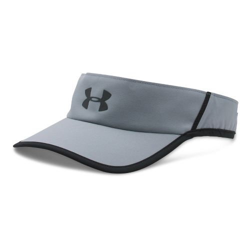 Mens Under Armour Shadow Visor 4.0 Headwear - Steel/Black