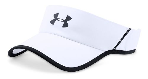 Mens Under Armour Shadow Visor 4.0 Headwear - White/Black