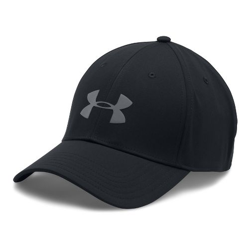 Mens Under Armour Storm Headline Cap Headwear - Black M/L