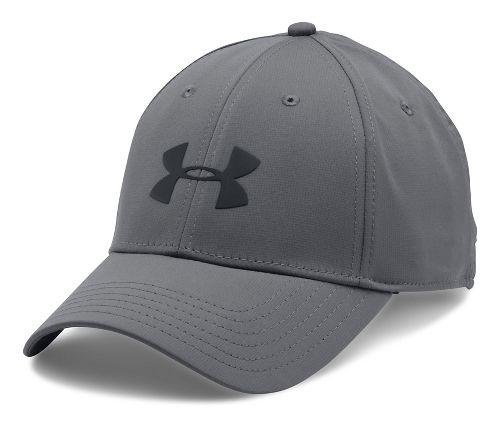 Mens Under Armour Storm Headline Cap Headwear - Graphite M/L