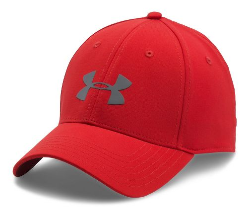Mens Under Armour Storm Headline Cap Headwear - Red L/XL