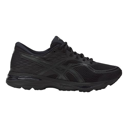 Mens ASICS GEL-Cumulus 19 Running Shoe - Black/Black 7