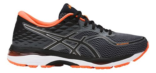 Mens ASICS GEL-Cumulus 19 Running Shoe - Carbon/Orange 12