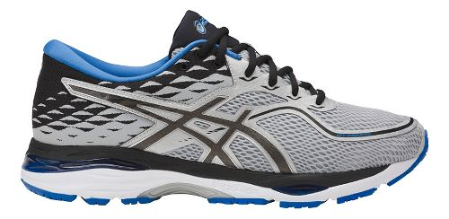 Mens ASICS GEL-Cumulus 19 Running Shoe - Grey/Black 10