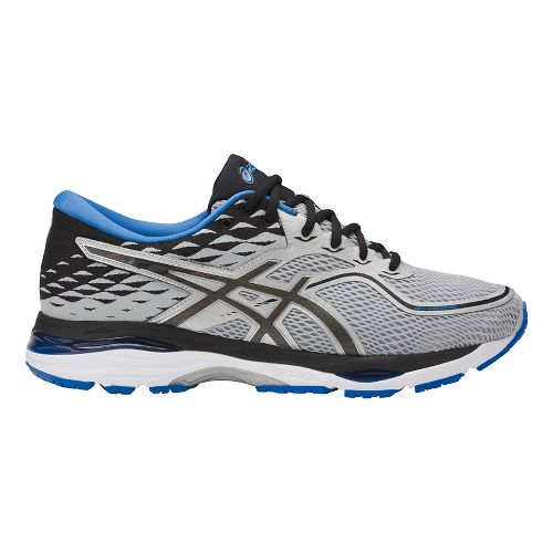 Mens ASICS GEL-Cumulus 19 Running Shoe - Grey/Black 11