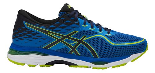 Mens ASICS GEL-Cumulus 19 Running Shoe - Blue/Green 9