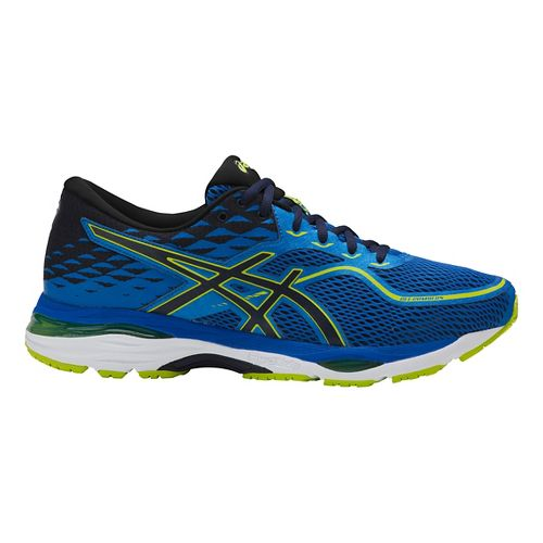 Mens ASICS GEL-Cumulus 19 Running Shoe - Blue/Green 8