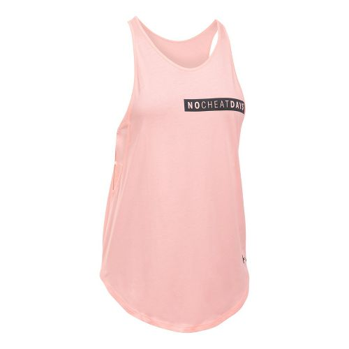 Womens Under Armour No Cheat Days Strappy Sleeveless & Tank Tops Technical Tops - ...