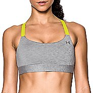 Womens Under Armour Eclipse Mid Heather Sports Bra