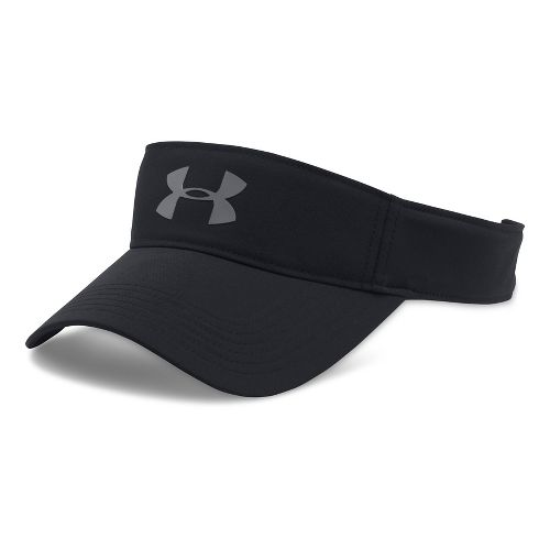 Mens Under Armour Headline Visor 2.0 Headwear - Black