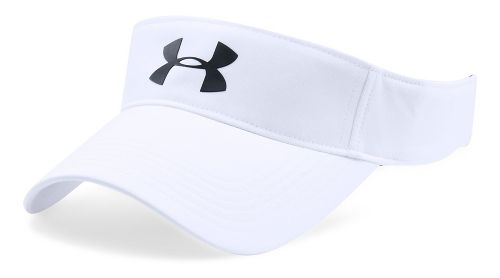 Mens Under Armour Headline Visor 2.0 Headwear - White