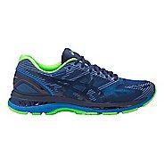 Mens ASICS GEL-Nimbus 19 Lite-Show Running Shoe - Blue/Green 12