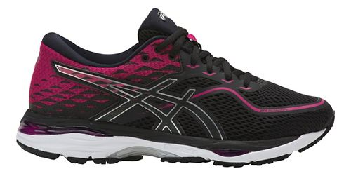 Womens ASICS GEL-Cumulus 19 Running Shoe - Pink/Black 6