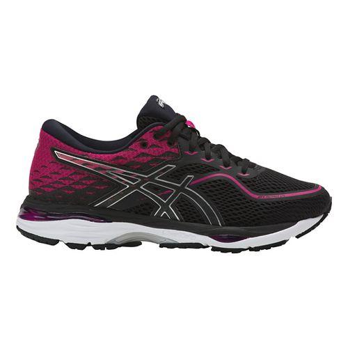 Womens ASICS GEL-Cumulus 19 Running Shoe - Pink/Black 5