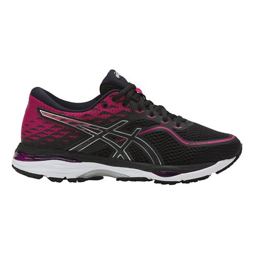 Womens ASICS GEL-Cumulus 19 Running Shoe - Pink/Black 7.5