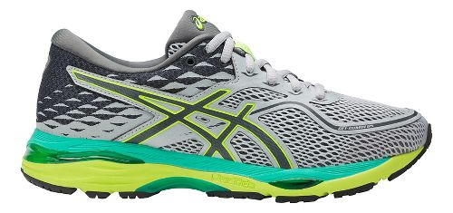 Womens ASICS GEL-Cumulus 19 Running Shoe - Grey/Yellow 7.5