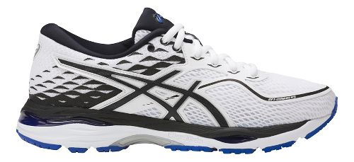 Womens ASICS GEL-Cumulus 19 Running Shoe - White/Black 6.5