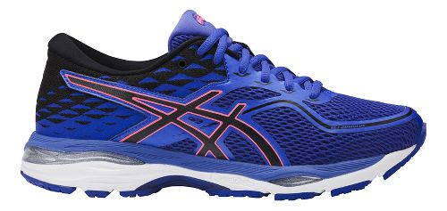 Womens ASICS GEL-Cumulus 19 Running Shoe - Blue/Orange 10