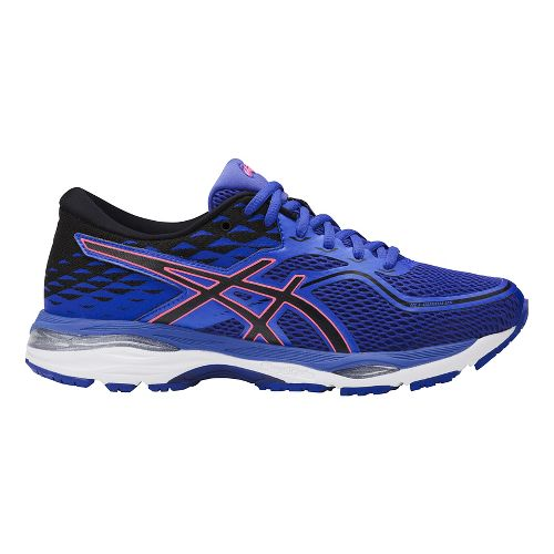 Womens ASICS GEL-Cumulus 19 Running Shoe - Blue/Orange 11