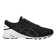 Mens ASICS DynaFlyte 2 Running Shoe - Black/White 12