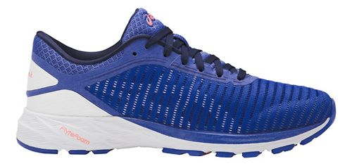 Womens ASICS DynaFlyte 2 Running Shoe - Blue/White 6.5