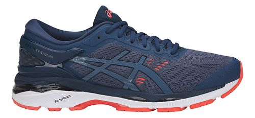 Mens ASICS GEL-Kayano 24 Running Shoe - Smoke Blue 14