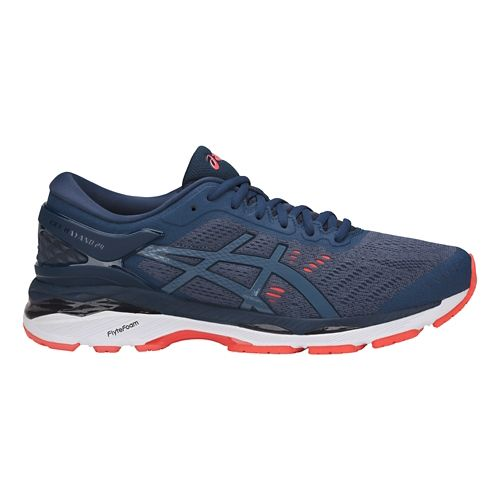 Mens ASICS GEL-Kayano 24 Running Shoe - Smoke Blue 8.5