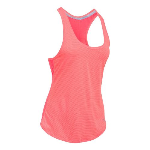 Womens Under Armour Threadborne Run Mesh Sleeveless & Tank Technical Tops - Marathon Red M