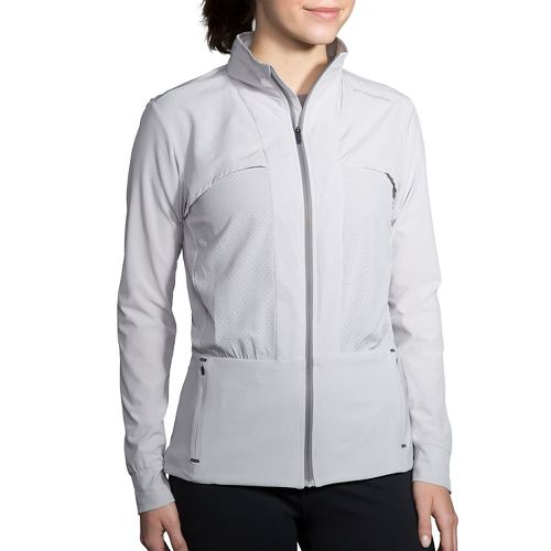 Womens Brooks Fremont Cold Weather Jackets - Heather Sterling L